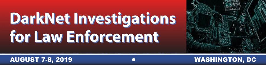 Darknet Investigations - Agenda