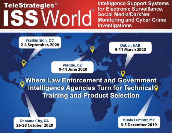 Iss Show 2020.Iss World Training Intelligent Support Systems For Lawful